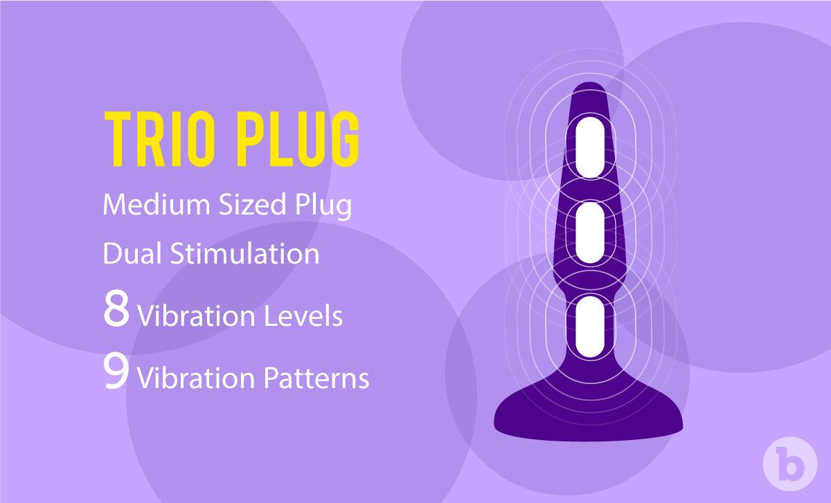 Benefits of b-Vibe Trio Plug