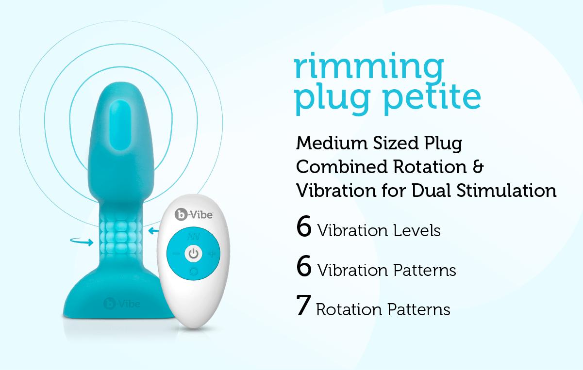 b-Vibe Rimming Plug Petite
