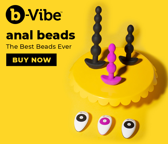 Browse the b-Vibe Cinco and Triplet Vibrating Anal Beads