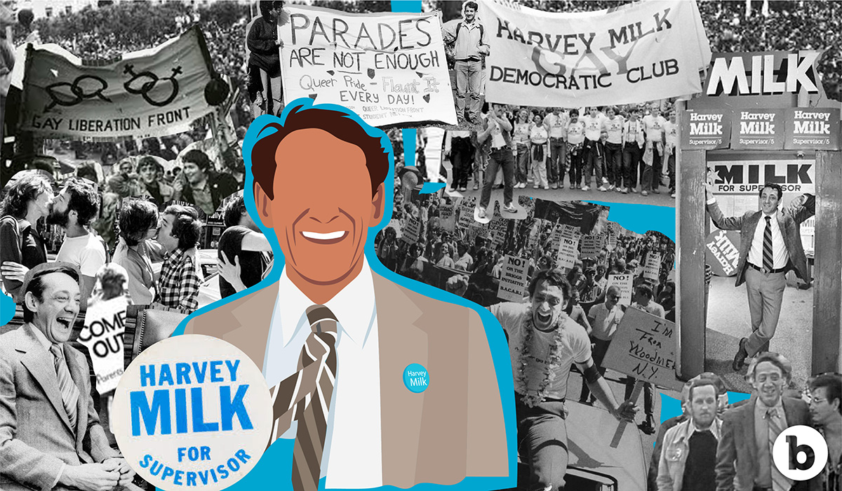 Freedom to be sexually me - Harvey Mlik was an American politician and the first openly gay elected official.