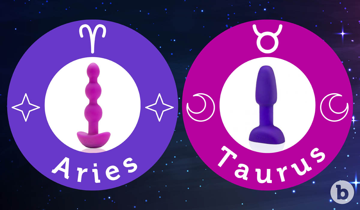 If the Aries zodiac sign were a b-Vibe it would be the Triplet Anal Beads and the Taurus would be the Rimming Plug Petite