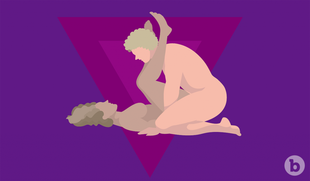 Sex positions like the G-Whiz allow for deeper penetration