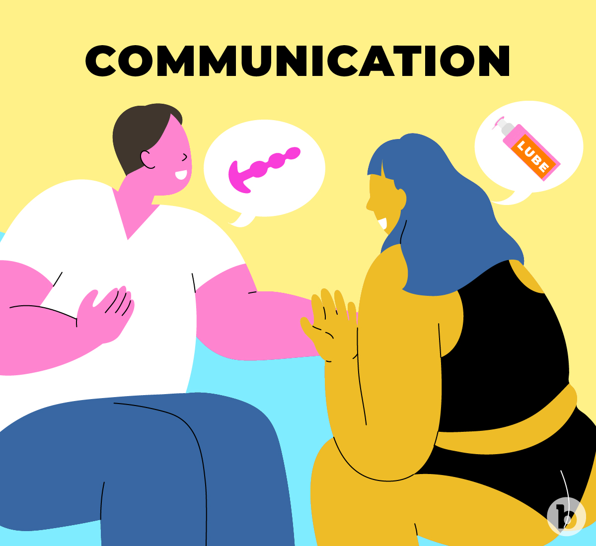 Communication is essential when it comes to pegging and anal play in general