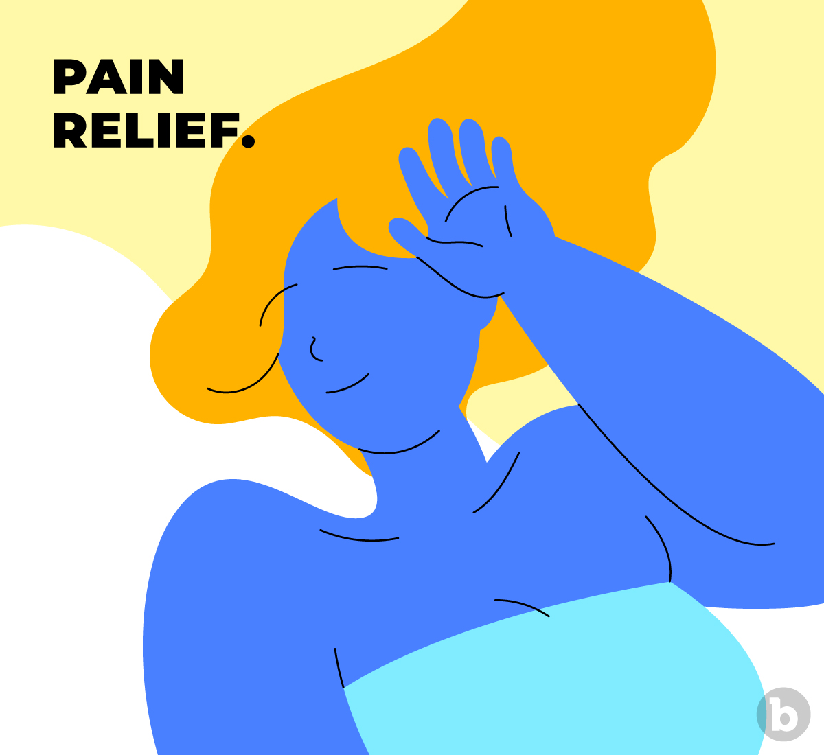 Pain relief is a health benefit of having orgasms