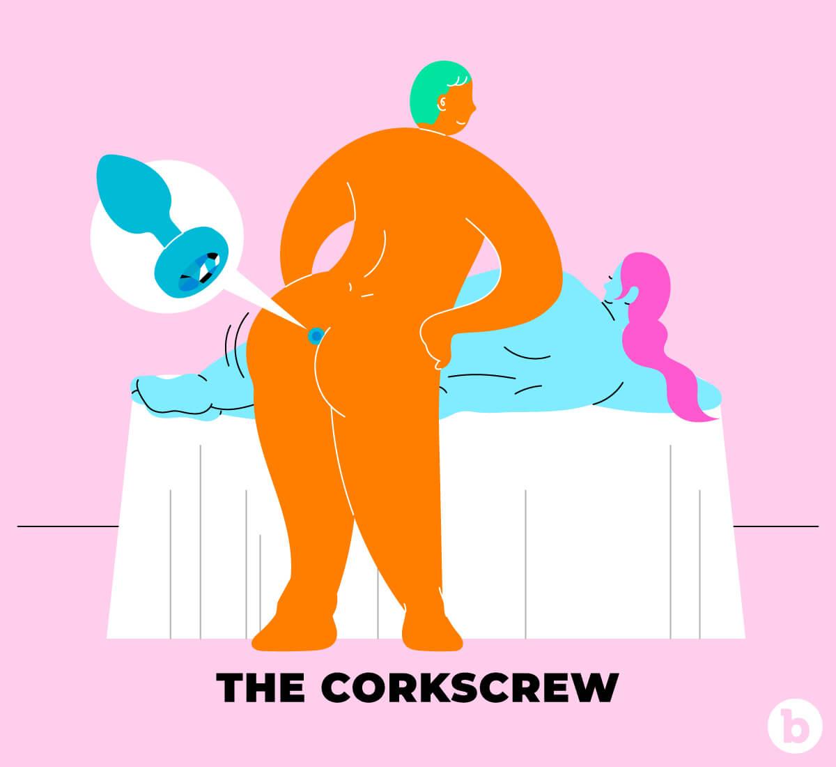 The Corkscrew Sex Position