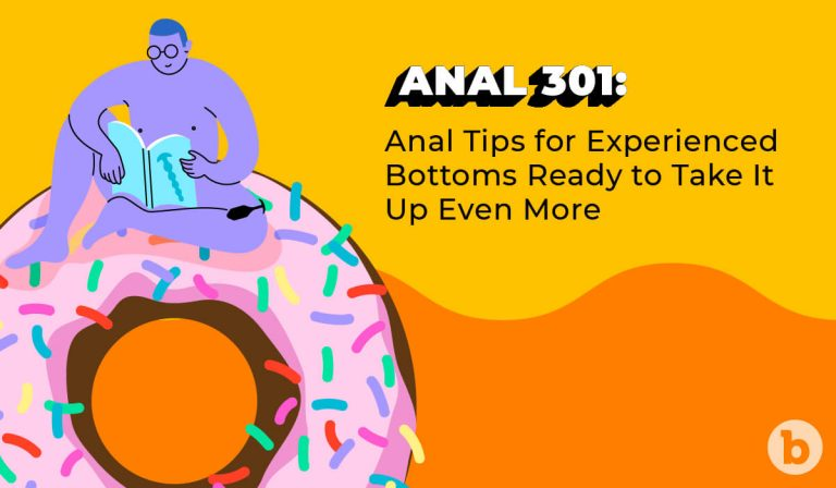 Sex educator Zachary Zane shares his best anal tips for experienced bottoms