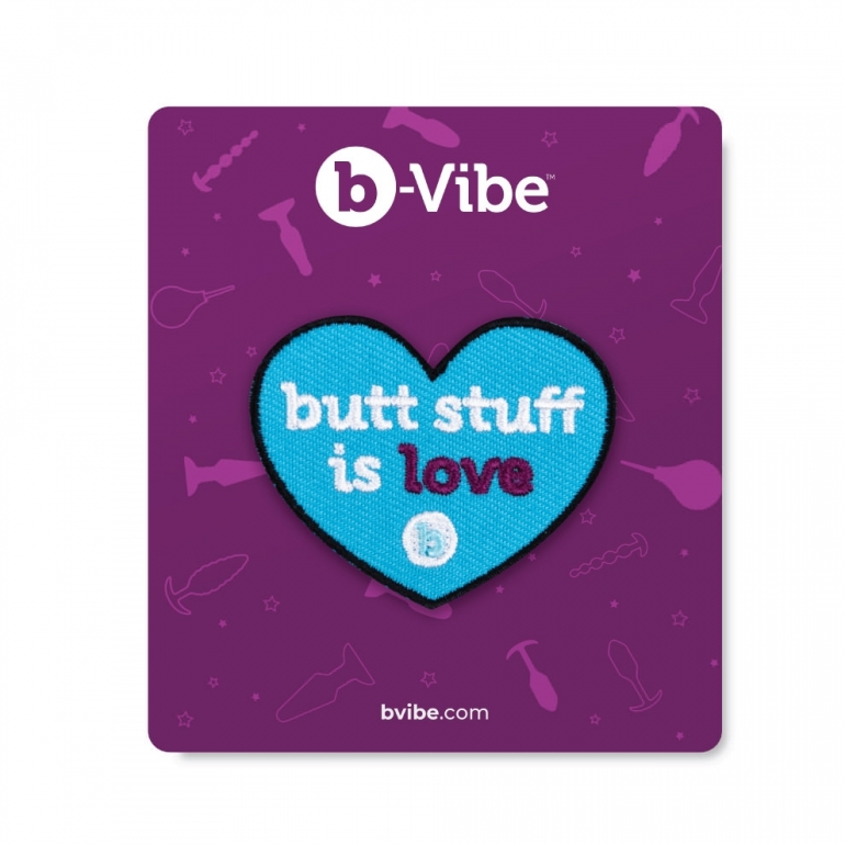 B-Vibe Butt Stuff Woven Patch Booty Swag