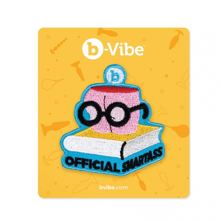 B-Vibe Official Smartass Woven Patch Booty Swag