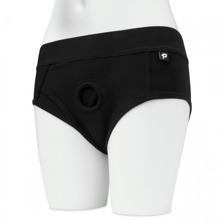 Unisex Strap-On Harness Briefs For Pegging