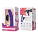 Pegasus 6 Inch Curved Wave Rechargeable Remote Controlled Peg And Adjustable Harness Set