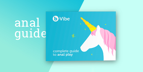 This b-Vibe Anal Training Kit includes a complete guide to anal play